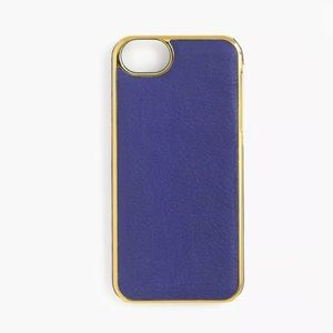 ❗️LAST ONE ❗️J CREW IPHONE 5/5S LEATHER CASE